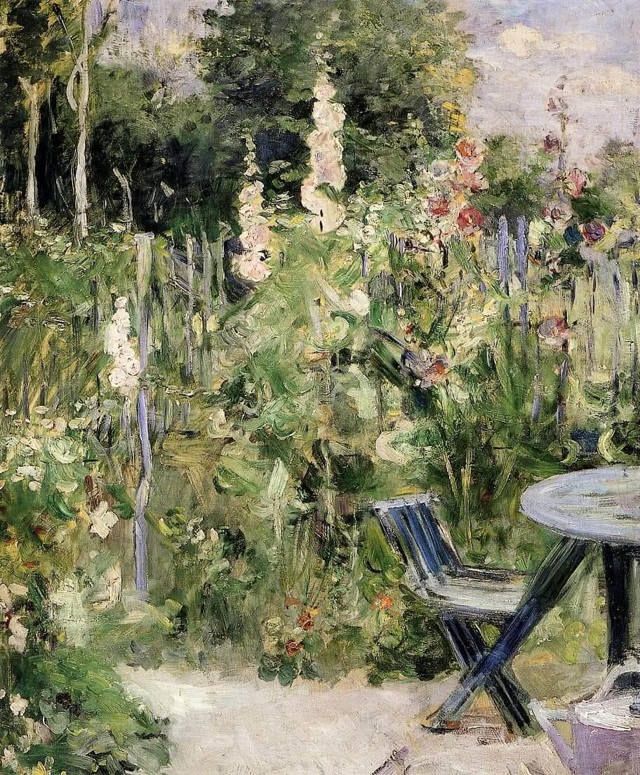 """""""Rozen Tremieres"""" door Berthe Morisot"""